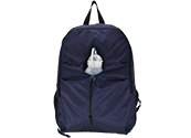 Urban fashion nylon backpack with bottle pocket BP530